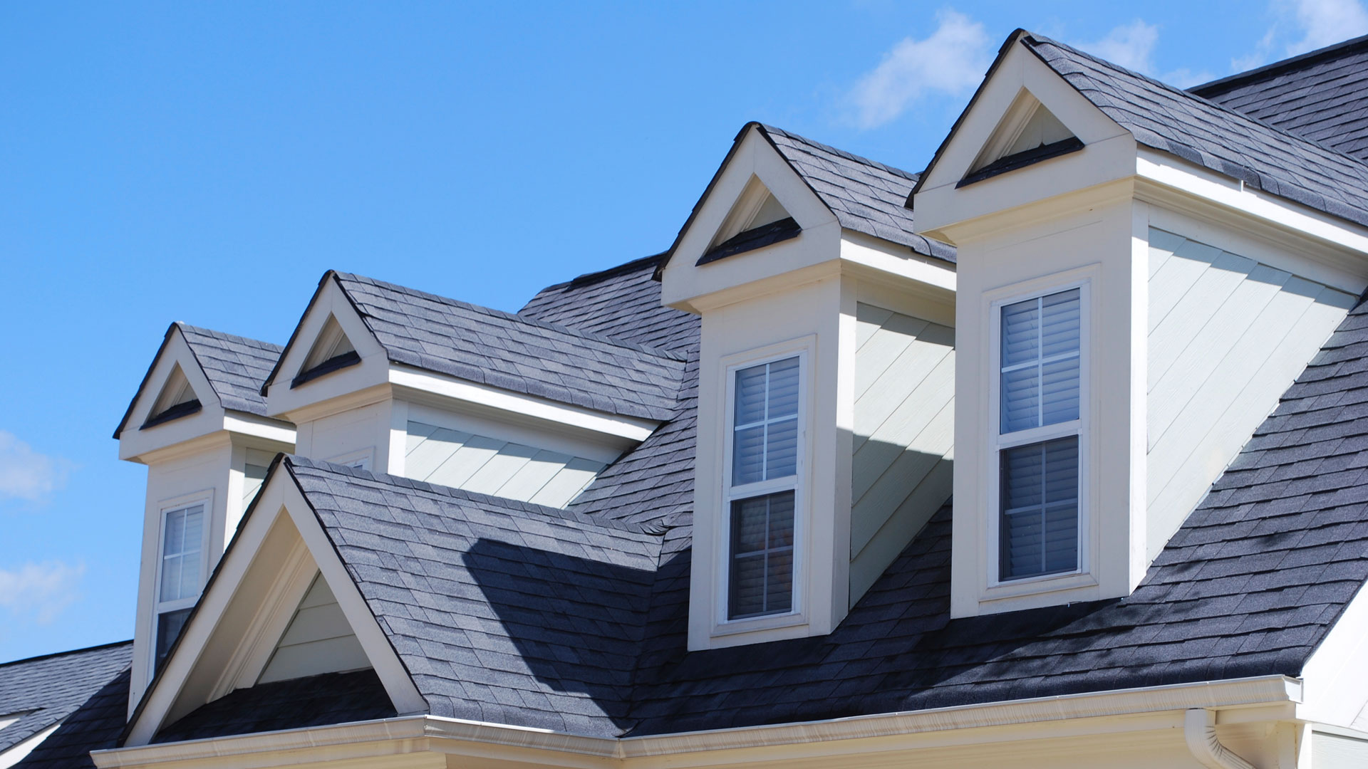 Folding Arm Awnings Provide Deep Down Support and Protection to The House
